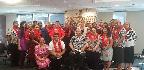 Pacific Prosperity steering and refs groups