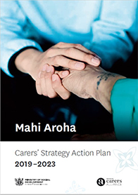 Carers' Strategy Action Plan cover