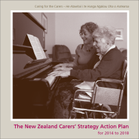Carers' Strategy Action Paln cover