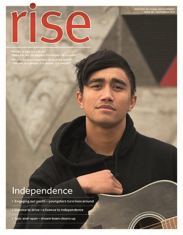 Rise Issue 30 - Cover